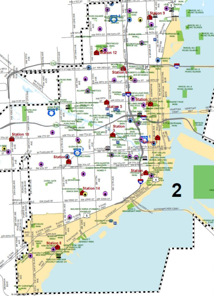 City of Miami Commission District 2 Map